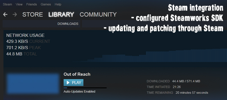 Out of Reach SteamSDK
